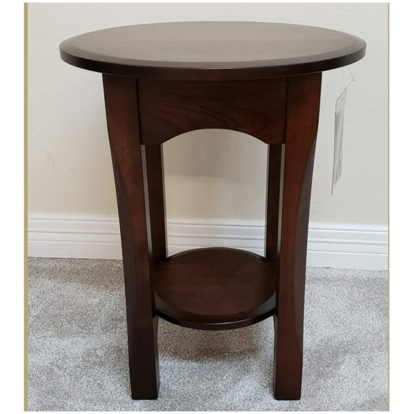 18 round bennet end table