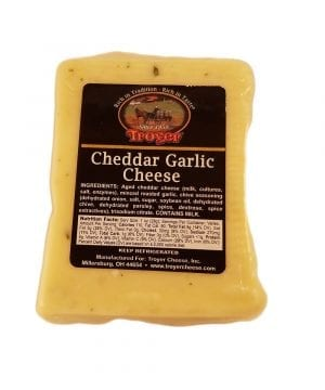 Cheddar Garlic Cheese