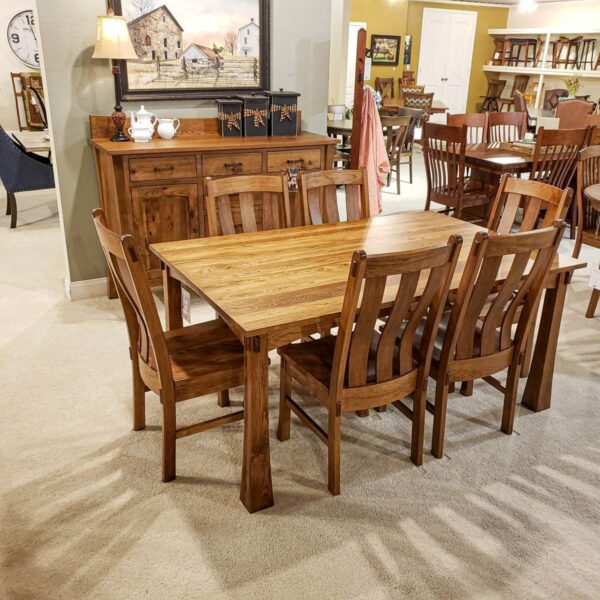 Plymouth Rustic Hickory Dining Collection