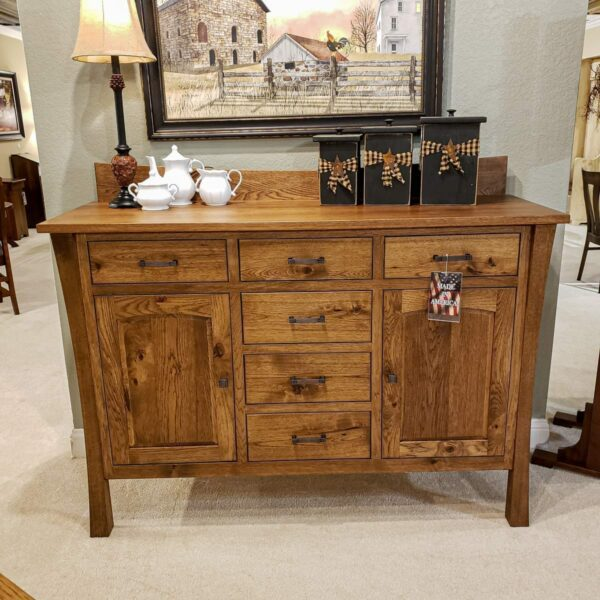 Woodbury Rustic Hickory Buffet