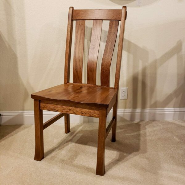 Olde Century Rustic Hickory Side Chair