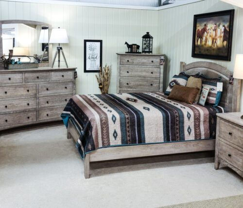 Carlston Sap Cherry Bedroom Collection