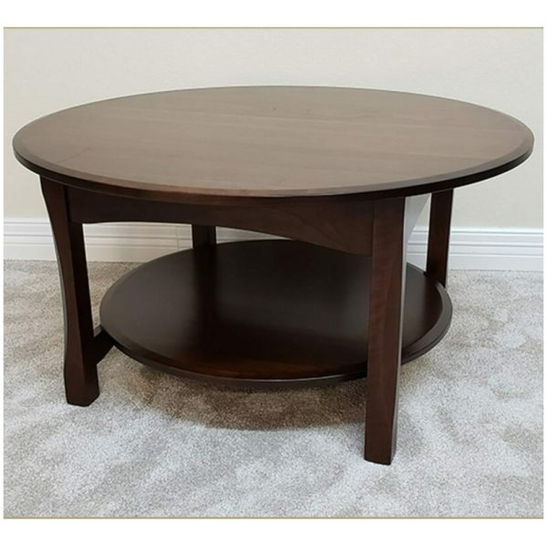 36 round bennet coffee table