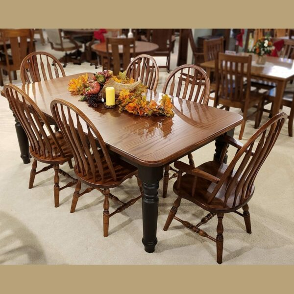 42 x 54 berkshire table 12583 side chairs 13218 arm chair 7136-2