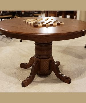 48 Traditional Single Pedestal Table