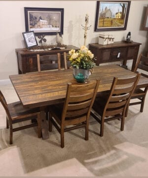 Buxton Reclaimed Oak Dining Collection