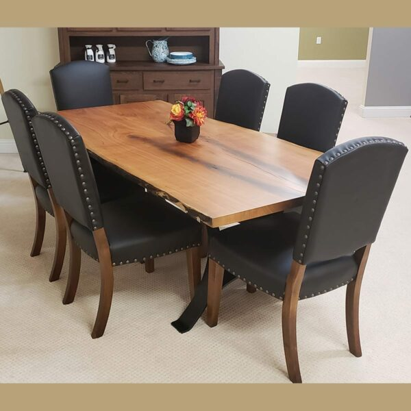 Collinsville Chair 14979 and Cherry Live Edge Table 14595 2