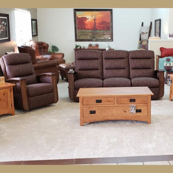 Hampton Br. Maple Reclining Collection