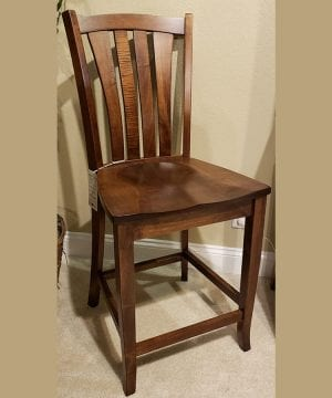 Harris 24in barstool Ashbury Mocha