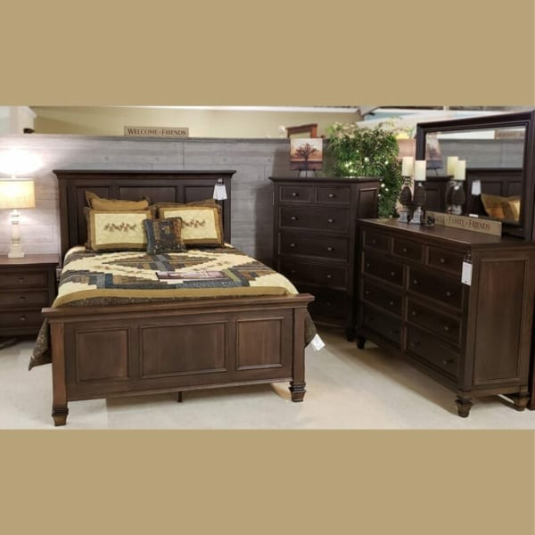 Legacy Village Cherry Bedroom Collection Oak Creek Amish Furniture