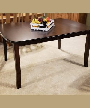 old world 36 x 54 leg table oak ashbury mocha