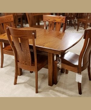 Sheridan 36 x 54 Table oak antique
