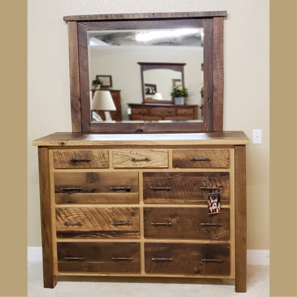 Silverton Mirror 15548 and Dresser 15546