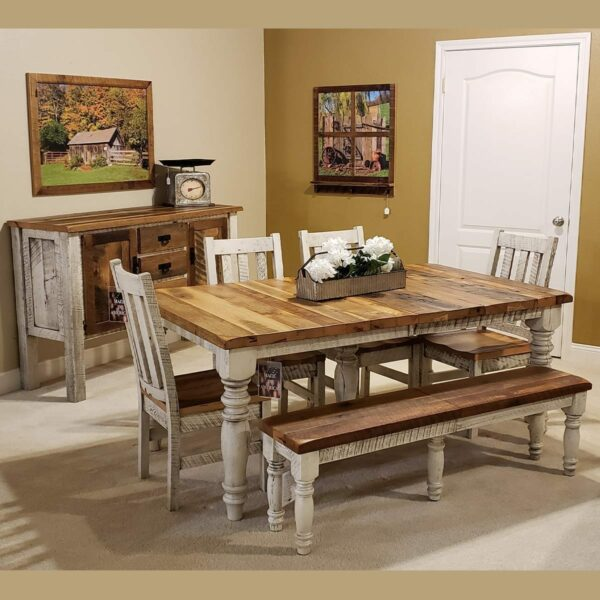 Surfside 2-Tone Reclaimed Wood Dining Collection