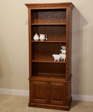 bookcase with gun storage197633