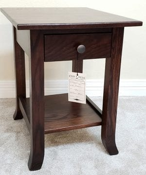 Carlisle Shaker Oak End Table