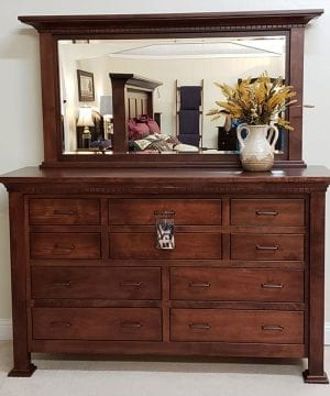 empire dresser br maple cinnamon