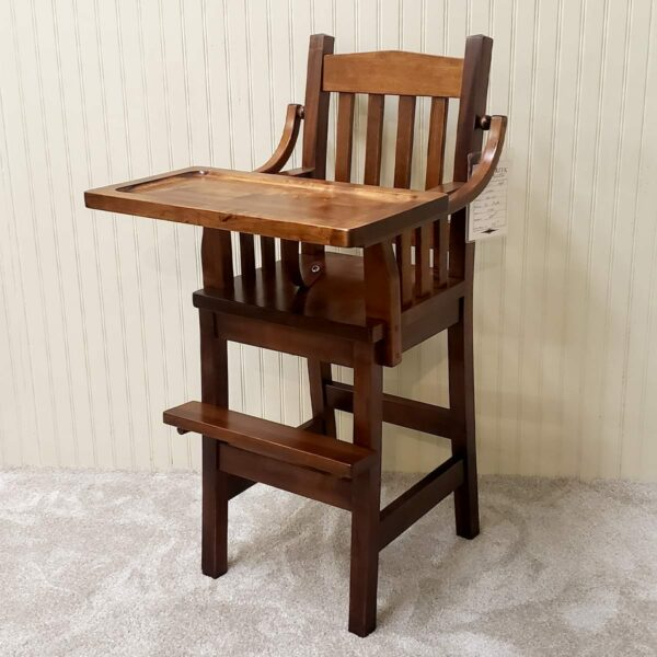 Mission Br. Maple High Chair