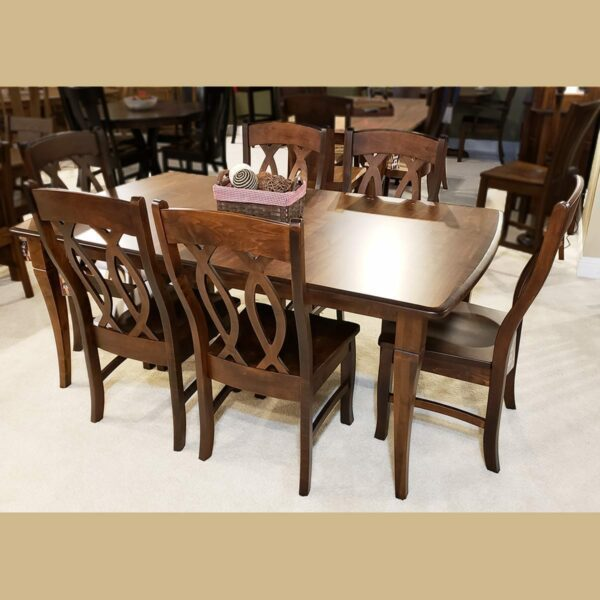 newbury table 14837 cambria side chair 14838