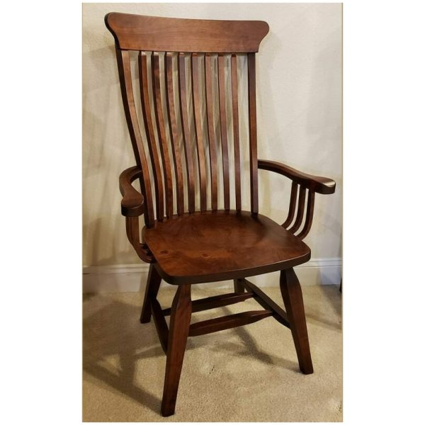 old south arm chair antique cherry