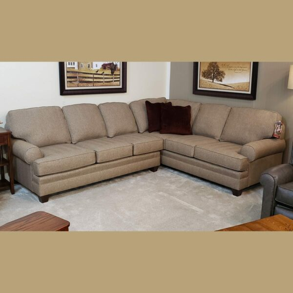 5311 Sectional Sofa with Pillows