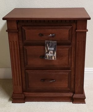 traditional nightstand 14377