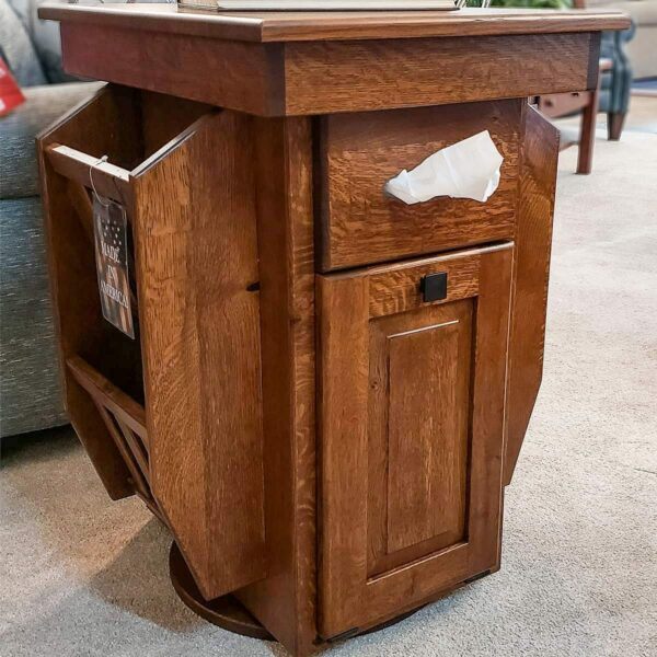 All-About White Oak End Table